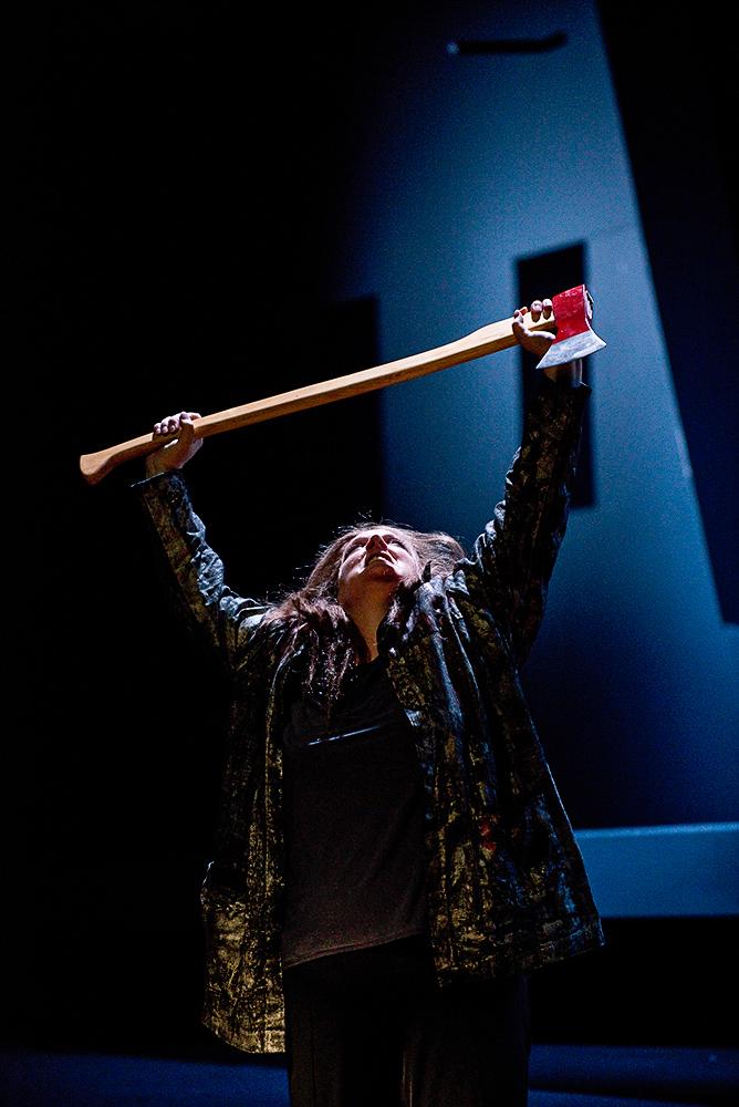"""""""Elektra"""", R.Strauss, Oper am Rhein, Düsseldorf, Inszenierung: Christof Nel"""