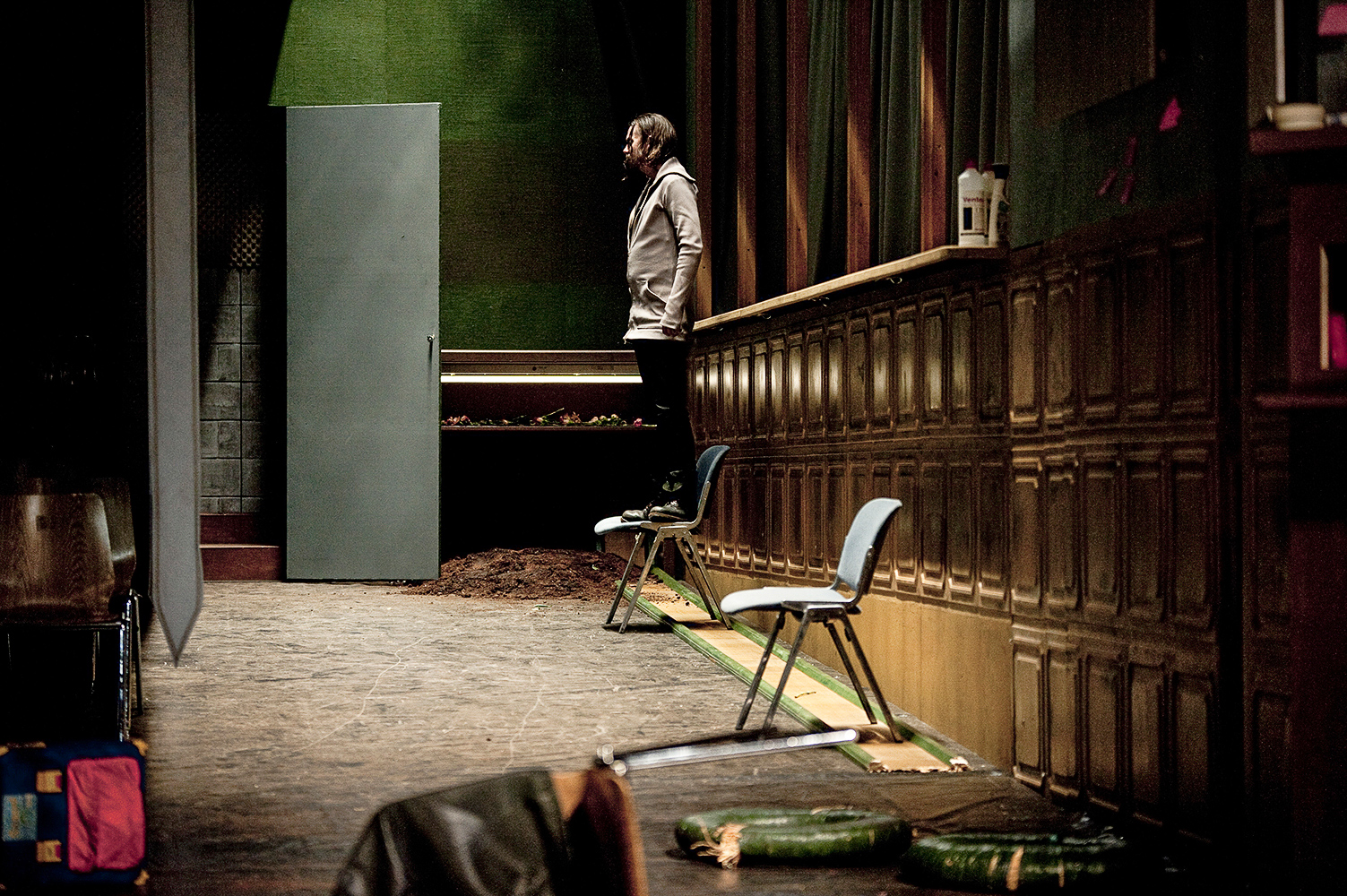 """Das letzte Feuer"", D.Loher, Staatstheater Kassel, Regie: Martin Schulze"