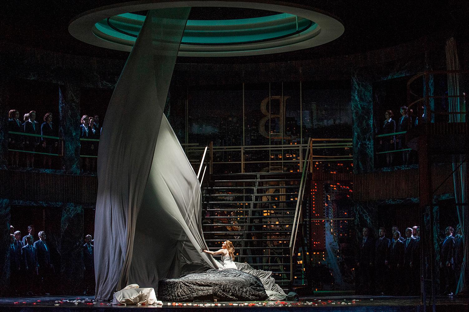 """""""Lohengrin"""", R.Wagner, Oper am Rhein, Düsseldorf, Inszenierung: Sabine Hartmannshenn"""