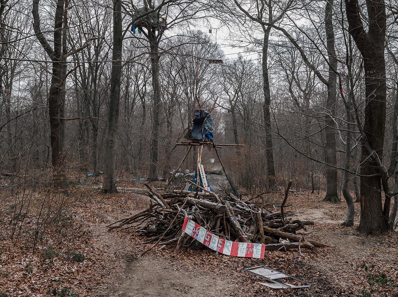 Barrikaden, Hambacher Forst