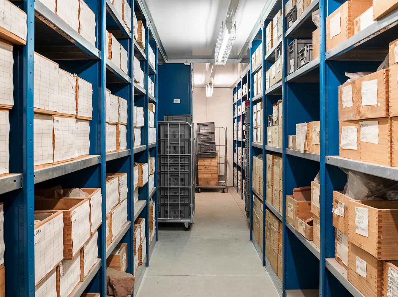 Archiv, Rheinisches Amt für Bodendenkmalpflege, Titz