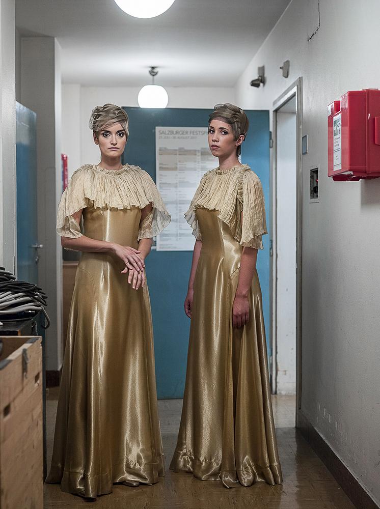 """Milica und Katharina in """"Aida"""", Festspielhaus Salzburg"""