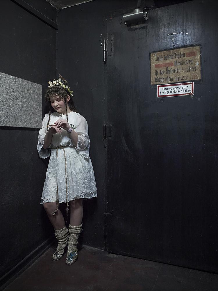 """Julia in """"Empedokles"""", Theater Oberhausen"""