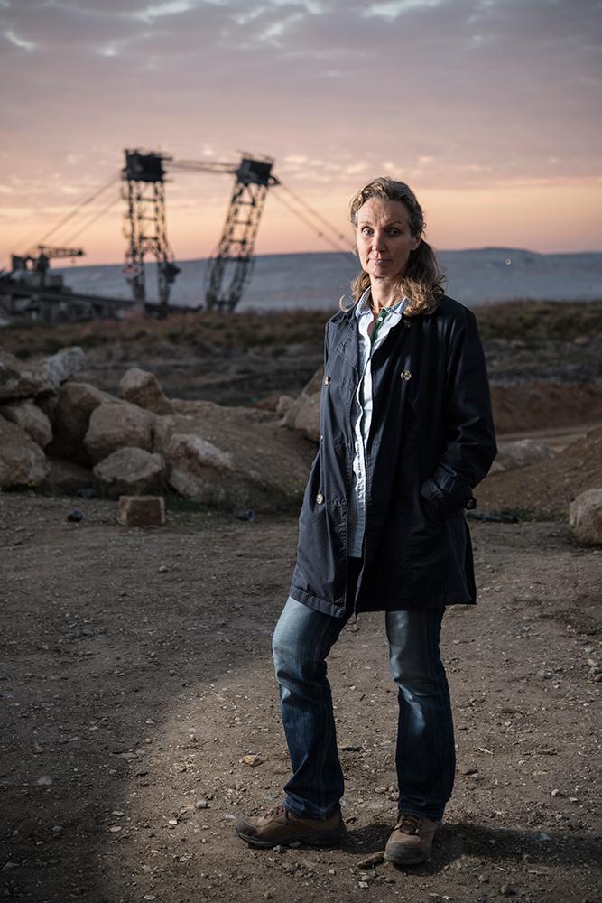 Antje Grothus, Umweltaktivistin, Tagebau Hambach