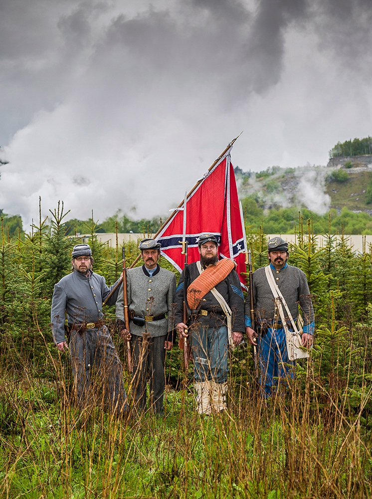 civil-war reenactment, Rottleberode