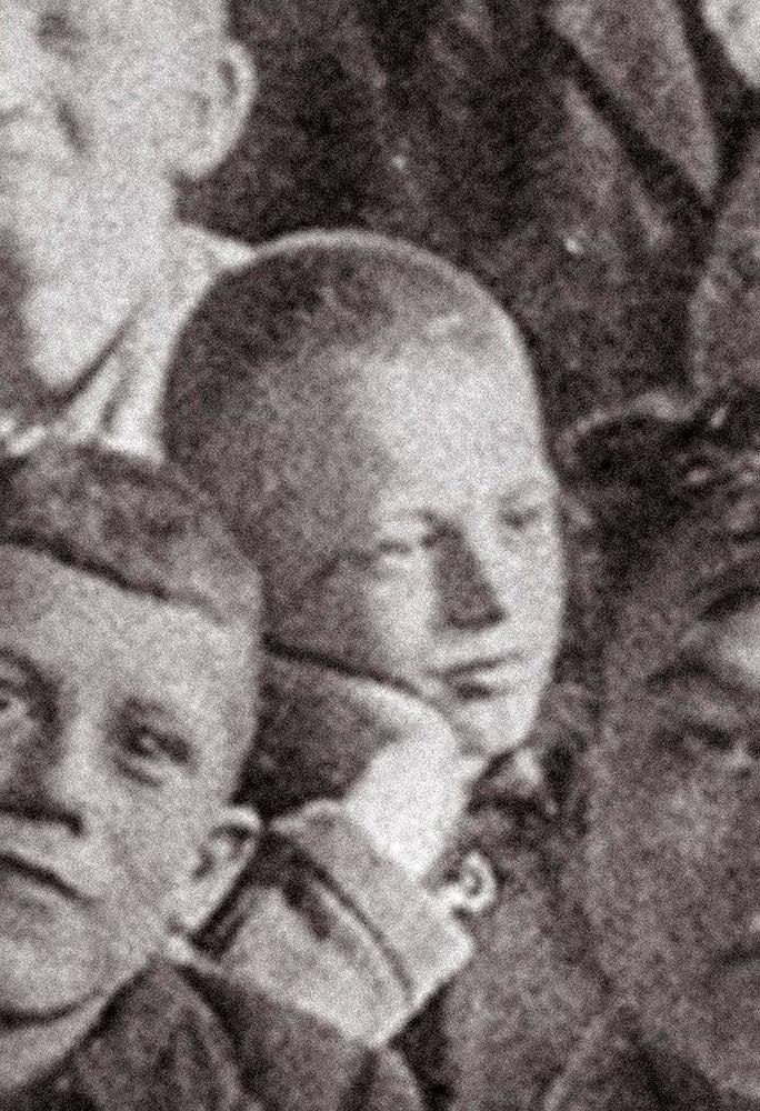 Klassenfoto, Bliesheim um 1927