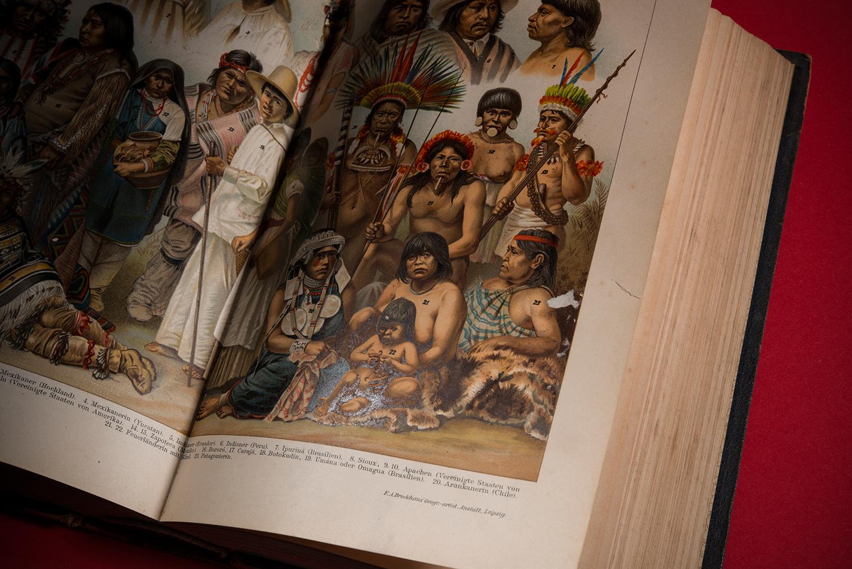 Südamerikanische Indio Stämme, Brockhaus, Leipzig 1895